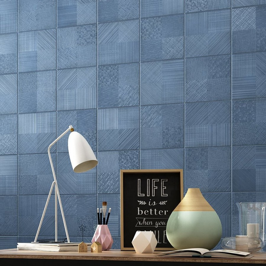 12-5-ceramic-tiles-in-interior-design-Cas-Ceramica-brand-collection-2017-matte-blue-sqaure-wall-tiles-geometrical-pattern
