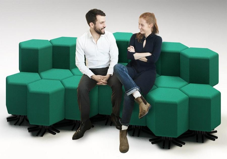 2-1-lift-bit-Italy-Vitra-Carlo-Ratti-design-modular-smart-seat-sofa-remote-digitally-transformable-controlled-furniture-upholstered-hexagonal-geometric