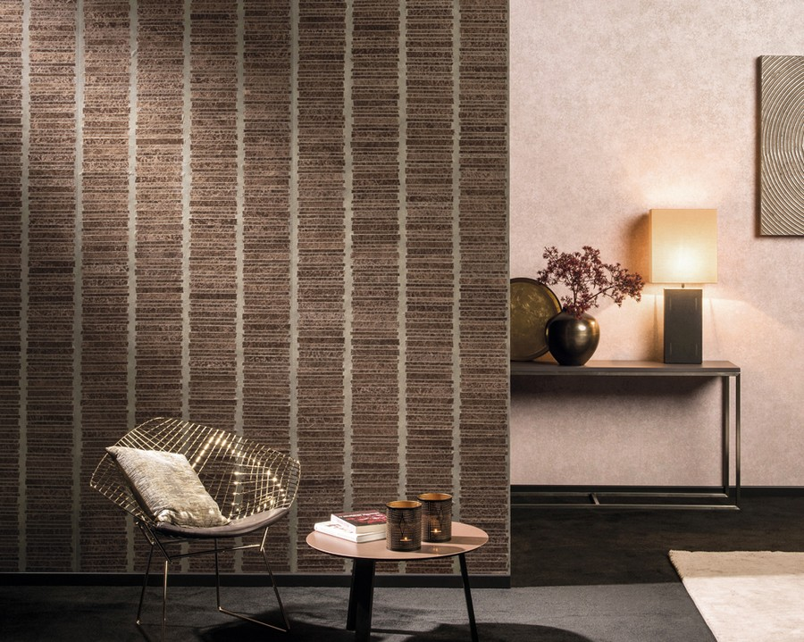 2-Omexco-handmade-hand-crafted-wallpaper-wall-covering-non-woven-eco-friendly-the-Japanese-paper-washi-the-Collages-collection-banana-fibers-beige-and-brown