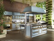 Amazing Pacific Light Blue Kitchen You'd Fall in Love With