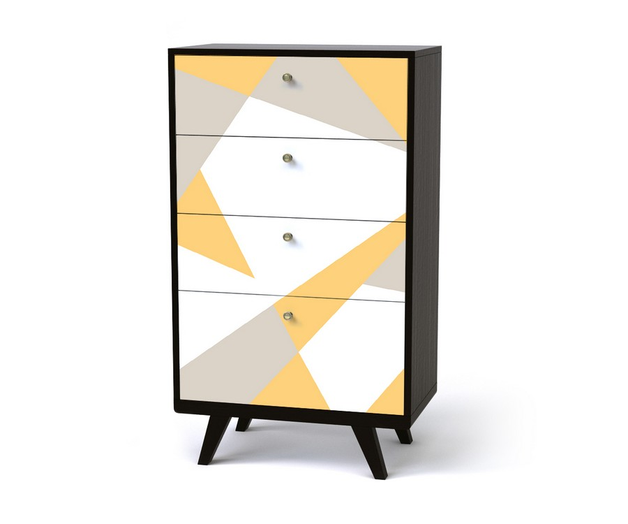 3-2-Thimon-multicolor-chest-of-drawers-tall-4-drawers-yellow-white-gray-geometrical-pattern