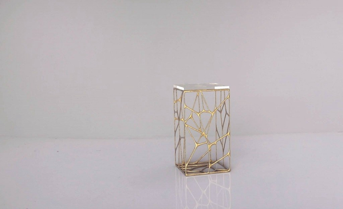 3-4-3D-printed-furniture-made-on-3D-printer-bronze-metal-cast-by-Ventury-Paris-France-French-design-bedside-table-nightstand