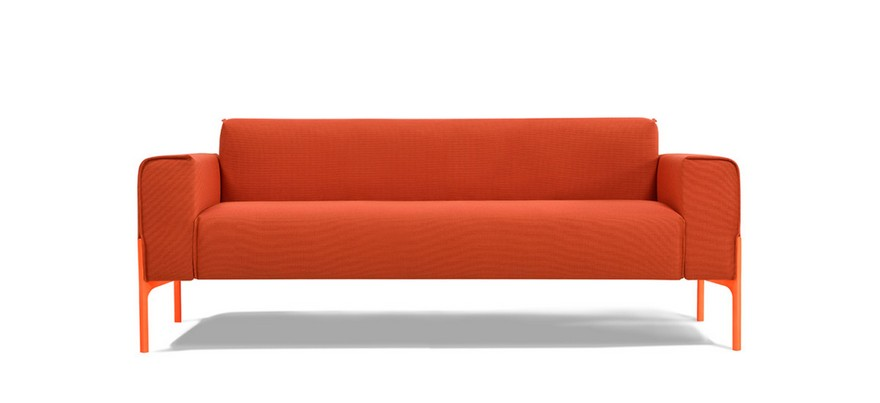 3-Inlay-sofa-design-by-Benjamin-Hubert-minimalistic-minimalist-style-furniture-red-sofa-slim-legs