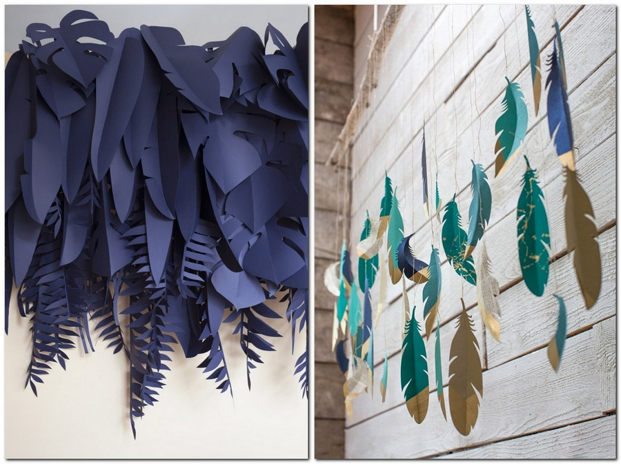 3-handmade-colored-paper-garlands-ideas-home-decor-party-holiday-feathers-from-templates