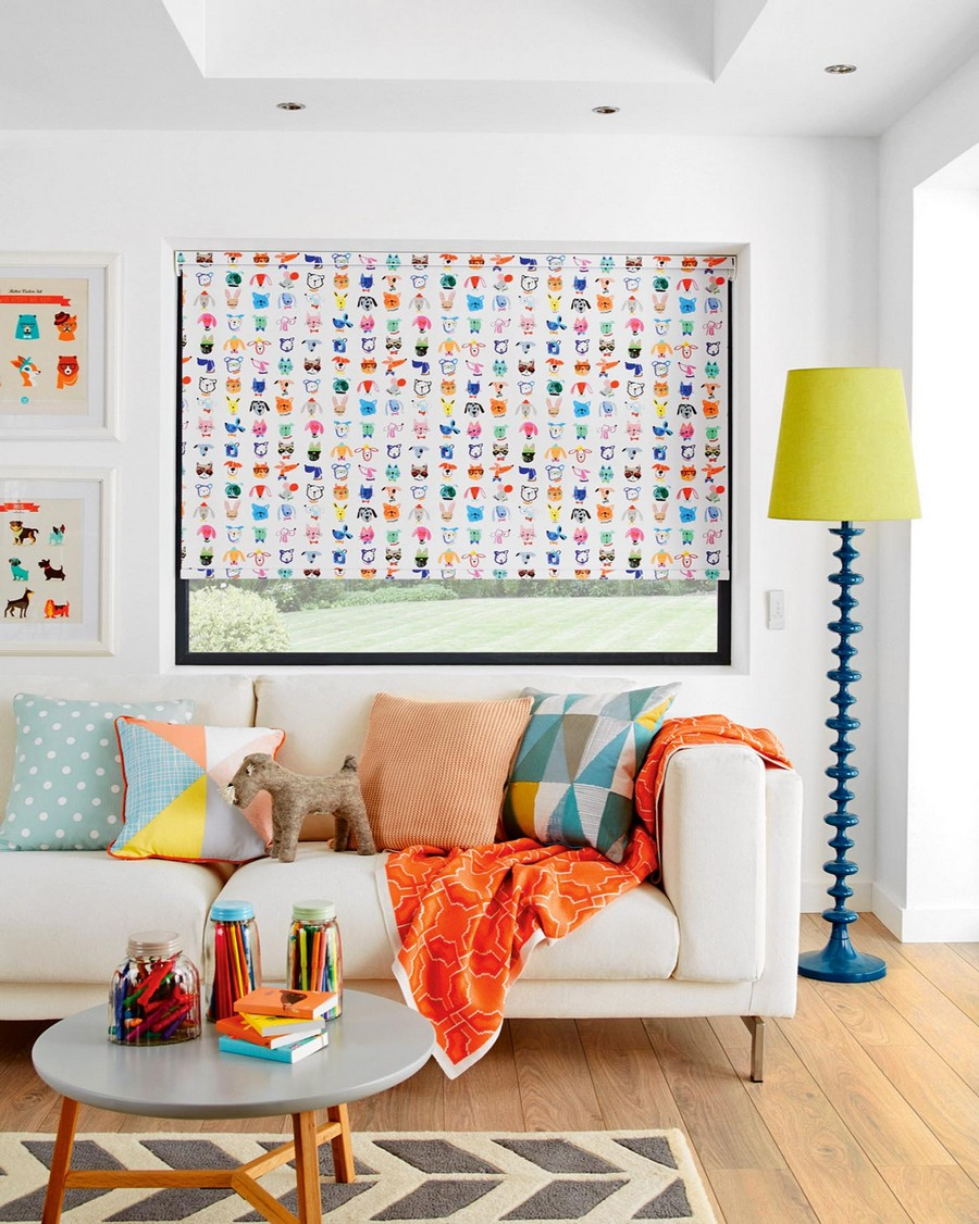 4-2-Fun-Party-Animals-roller-blinds-by-English-Blinds-in-interior-design-bright-color-accents-beautiful-home-textile-decor-accessories-summer-2017