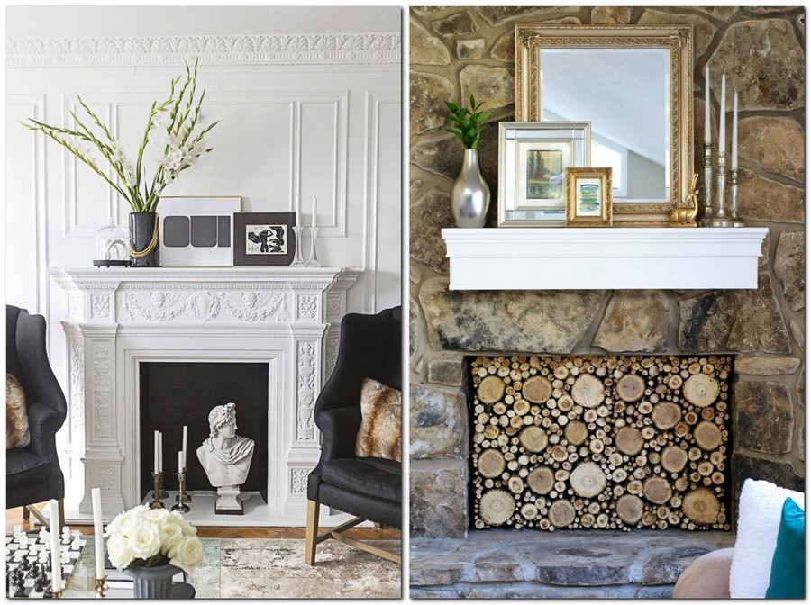 5-2-mantepiece-shelf-surround-plaster-display-photo-frames-mirror-faux-fireplace-ideas