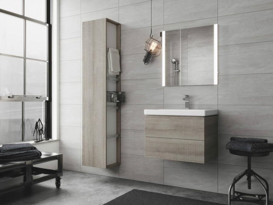 6-4-Cersanit-beige-bathroom-interior-design-wash-basin-vanity-unit-bathtub-toilet-loft-style-motifs-stool-wall-mounted-cabinets-backlit-mirror-wheeled-whatnot-bulb
