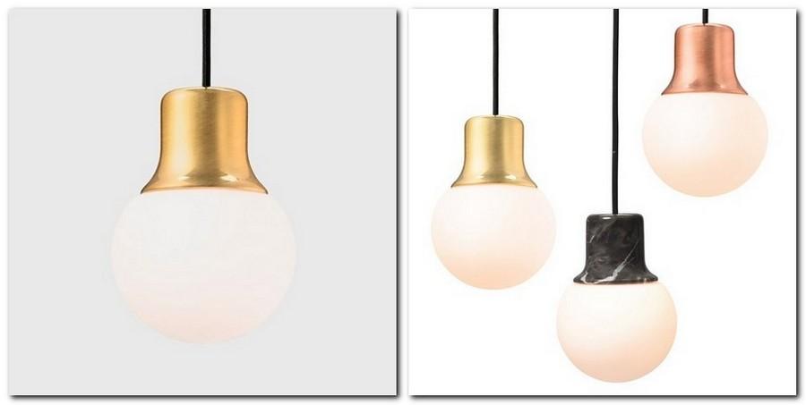 7-3-mass-na-5-pendant-lamp-laconic-matte-gold-base-milky-white-bulb-pink-gold-black-marble