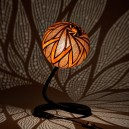Table-lamp-XXVI-night-6-handmade-carved-hand-crafted-light-by-Przemek-Krawczyński-Poland -from-natural-materials