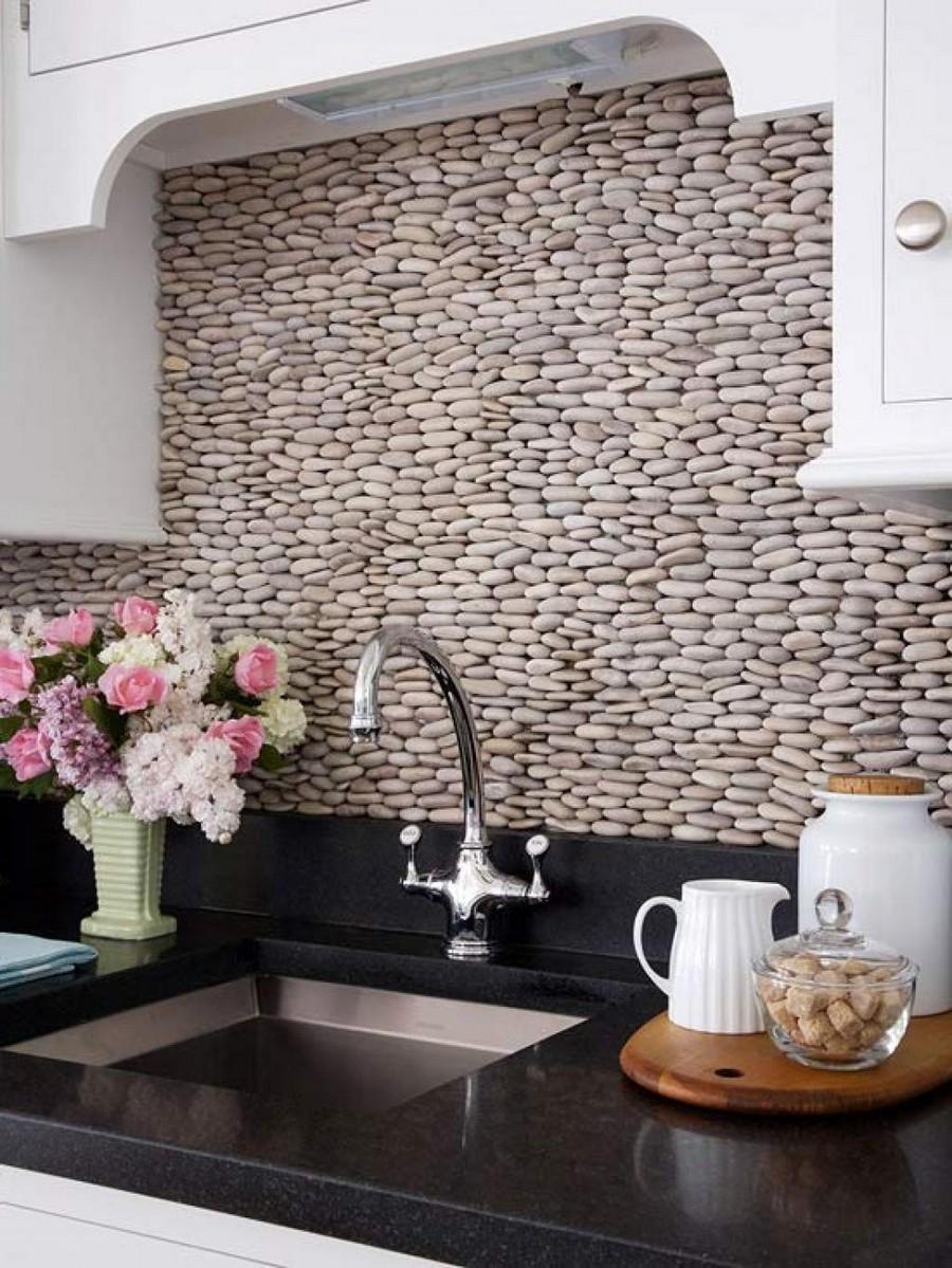 0-original-creative-kitchen-backsplash-ideas-in-interior-design-white-cabinets-pebbles-black-worktop-countertop