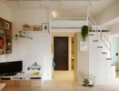 Hey! A Lovely Tiny Space: a Couple and a Cat, Double Happiness