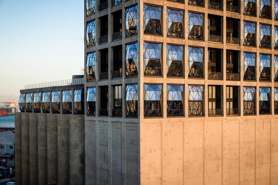 2-2-remade-building-in-South-Africa-Cape-Town-Royal-Portfolio-Hotel-ex-grain-elevator-exterior-convex-windows