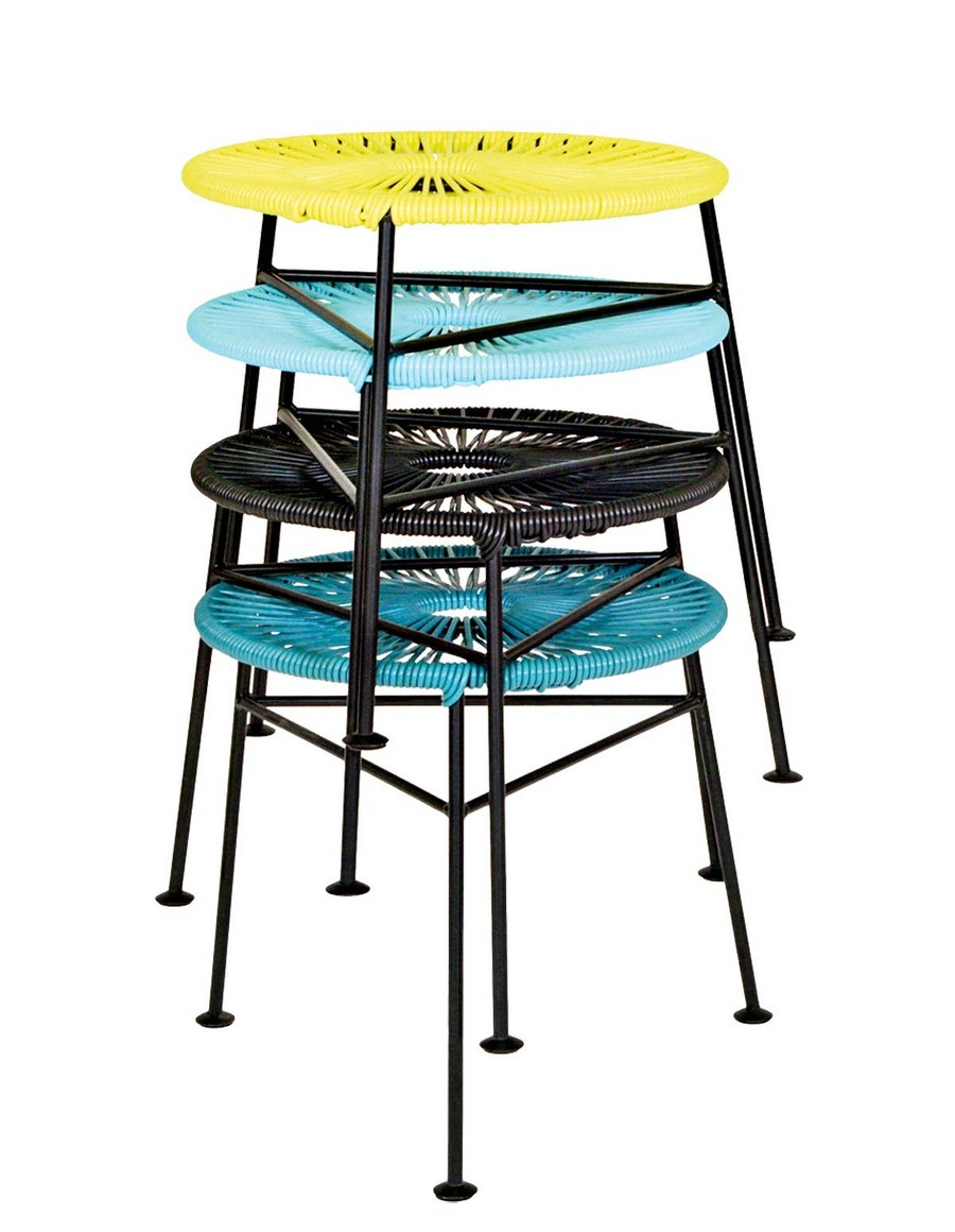 4-4-compact-furniture-for-small-apartment-ideas-stackable-multi-colored-stools-blue-yellow-black