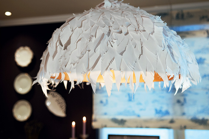 4-French-Parisian-style-kitchen-dining-room-pendant-lamp-designer-handmade-paper-floral-lampshade-DIY