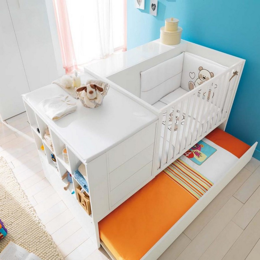 5-2-toddler-baby-bed-white-multifucntional-cot-with-storage-area-drawers-shelves-changing-table