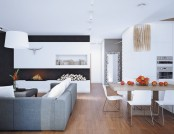 Siberian Apartment Inspired by an Austrian Chalet