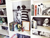 How to Refresh Your Bookshelves in One Day: 5 Ideas