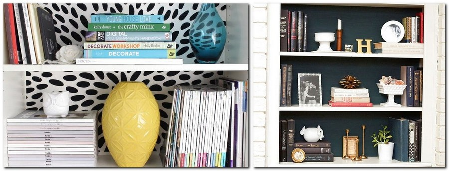 1-3-shelves-decoration-of-bookshelves-decor-ideas-black-and-white-wallpaper-background