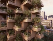 Wooden 18-Storey Housing Estate to Be Built in Toronto