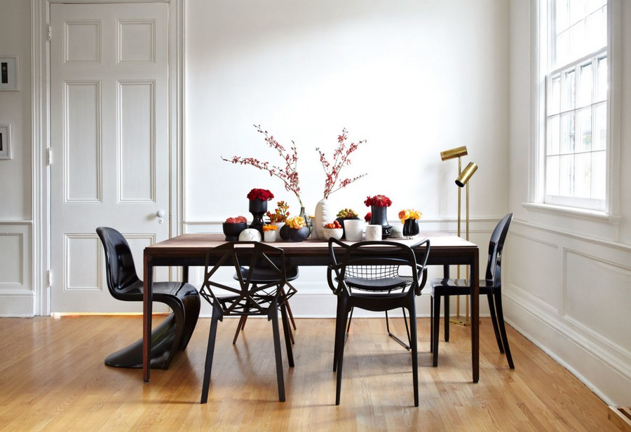 2-1-mismatched-chairs-in-kitchen-dining-room-interior-design-black-in-different-style