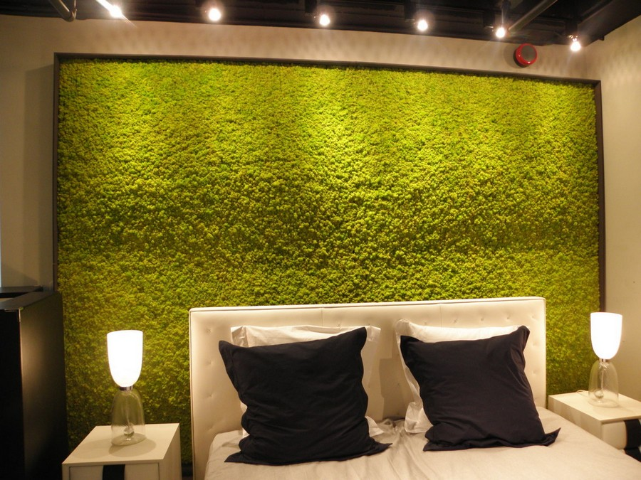 2-5-stabilized-natural-living-moss-in-interior-design-home-decor-eco-style-accent-wall-in-bedroom-vertical-garden-nightstands-pillows-bed-lamps