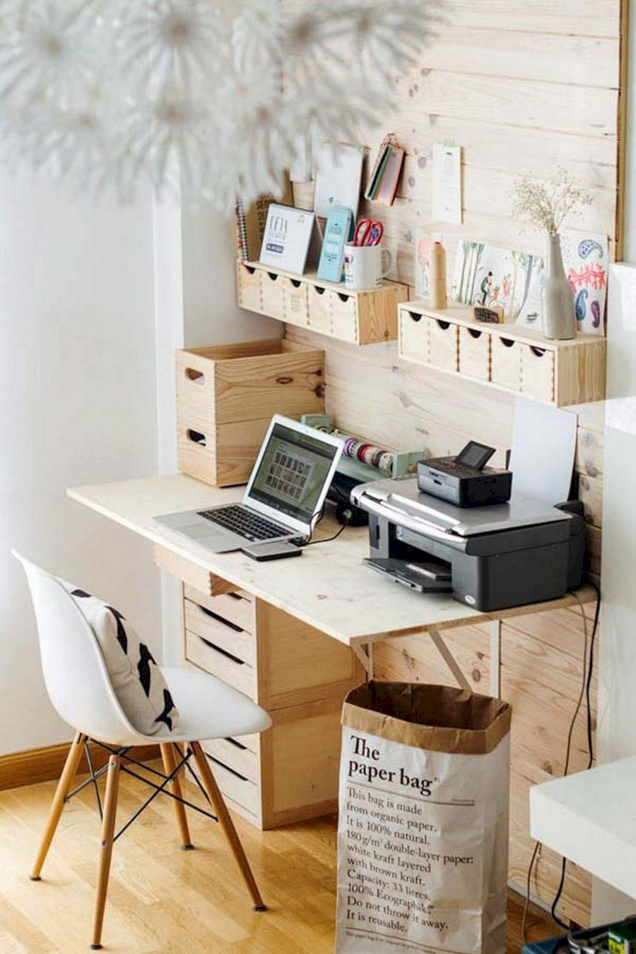 2-home-office-interior-design-ideas-inspiring-beautiful-cozy-work-area-light-wood-rustic-country-eco-style-shelves-handmade-drawers-desk-printer-laptop-boxes-storage