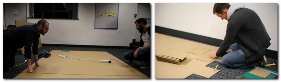 3-1-creative-office-interior-ideas-cardboard-castle-handmade