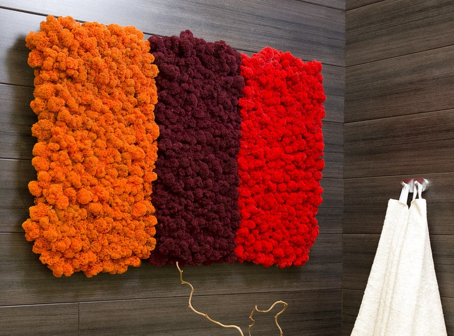 3-4-stabilized-natural-living-moss-in-interior-design-home-decor-eco-style-wall-panel-multicolor-red-orange-brown-painted-dyed