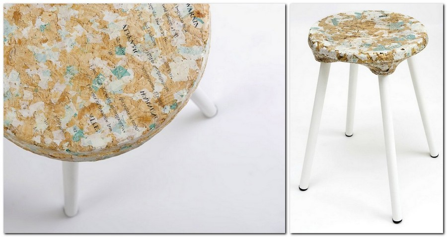 3-zero-waste-target-production-of-furniture-from-recycled-waste-Kulla-Israel-stool-from-reused-plastic-bags-and-wood-chips
