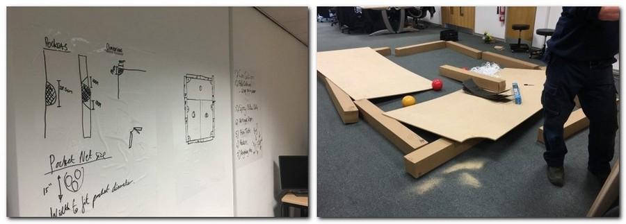 4-1-creative-office-interior-ideas-handmade-pool-billiards-table-for-leaf-blowers