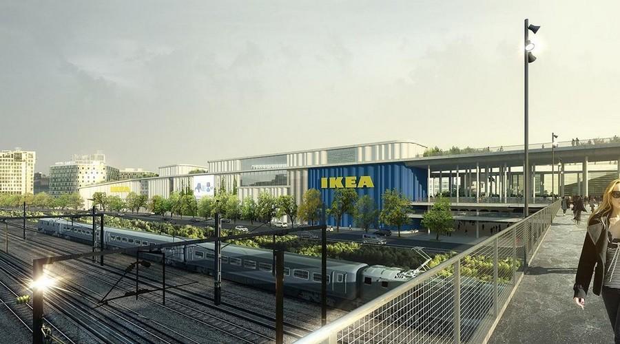 4-Cacti-Towers-project-3D-renders-in-Copenhagen-new-urban-IKEA-mall-hotel-Denmark-modern-architecture-unusual-buildings-hexagonal-balconies