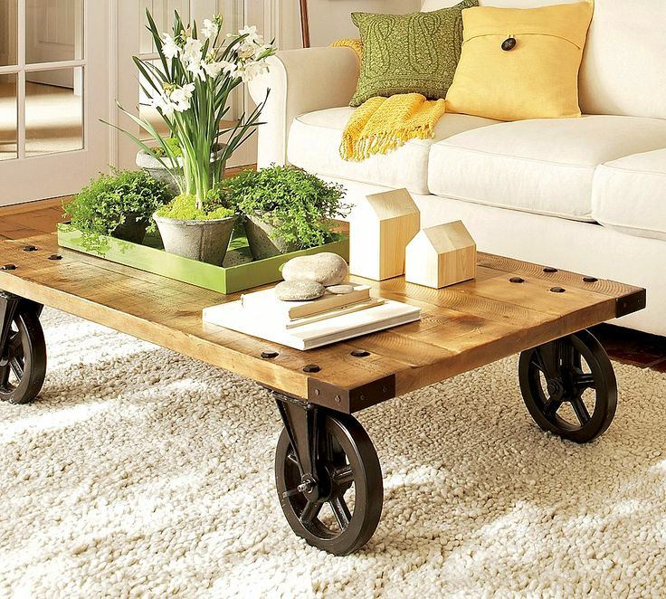 4-ideal-perfect-coffee-table-decor-composition-flowers-vase-books-daffodils-eco-style-pots-decorative-houses-wheels-stones-yellow-green-accents-rug-in-living-room-interior-design