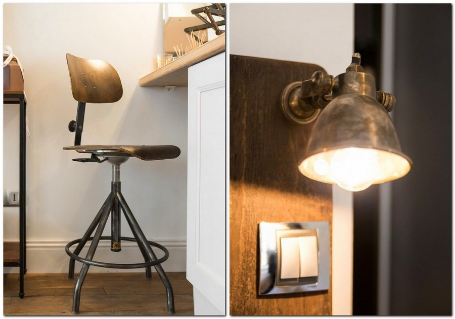 5-1-white-walls-beige-gray-caramel-brown-interior-design-in-French-style-Paris-home-decor-metal-lamp-bar-stool-chair