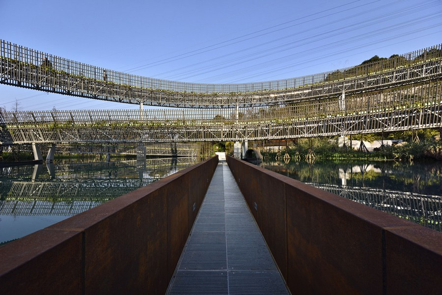 5-high-rise-pedestrian-walkway-pathway-way-in-China-Fuzhou-city-by-LOOK-architects