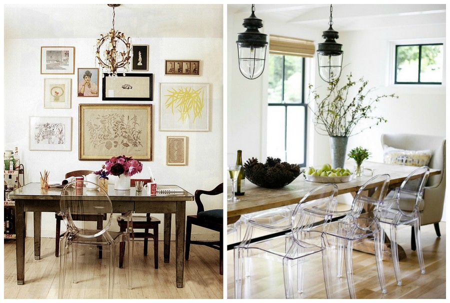 6-2-mismatched-chairs-in-kitchen-dining-room-interior-design-transparent-plastic-chairs