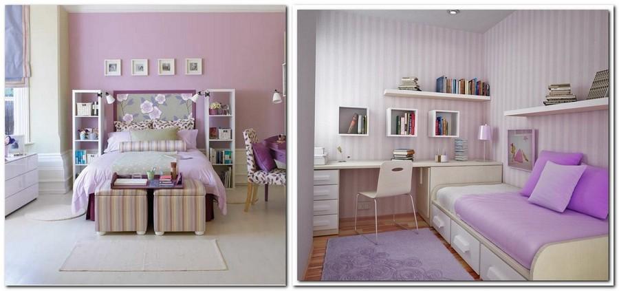 7-lilac-grey-color-in-interior-design-kid's-room-teenager's-bedroom-gray-purple-stripy-wallpaper