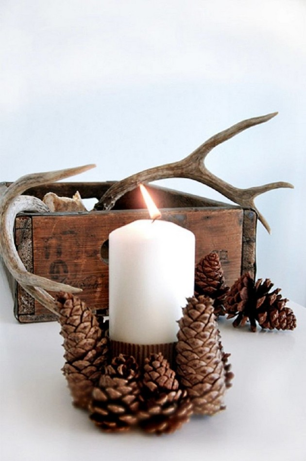 1-pinecones-pine-fir-spruce-cones-home-decor-Christmas-decoration-ideas-candle-wooden-box-deer-horns-Scandinavian-style-eco-style