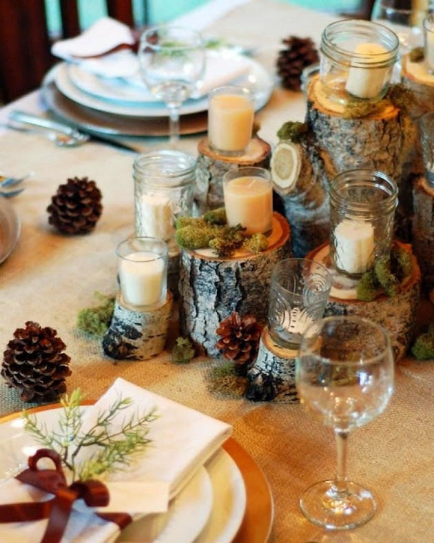 20-pinecones-pine-fir-spruce-cones-home-decor-Christmas-decoration-ideas-eco-style-tree-stumps-candles-glasses-napkins-table-settings
