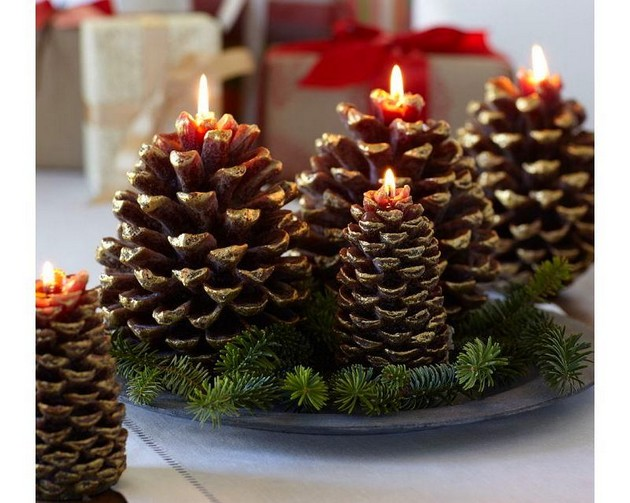 21-2-pinecones-pine-fir-spruce-cones-shaped-candles-home-decor-Christmas-decoration-ideas-eco-style