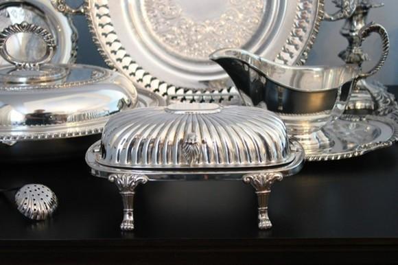 5-silver-kitchenware-tableware-set-cream-butter-holder-dishes