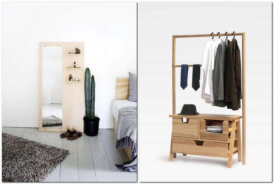 6-1-plywood-in-interior-design-decor-furniture-wardrobe-open-closet-full-length-mirror