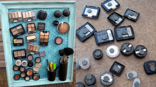 13-neat-tidy-makeup-beauty-products-storage-ideas-vertical-magnet-magentic-organizer-wall-picture