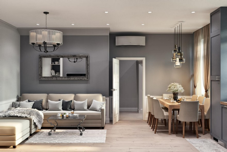 2-3-modern-light-Scandinavian-style-interior-open-plan-concept-living-room-dining-area-kitchen-gray-beige-lounge-coffee-table-chairs-pendant-lamps