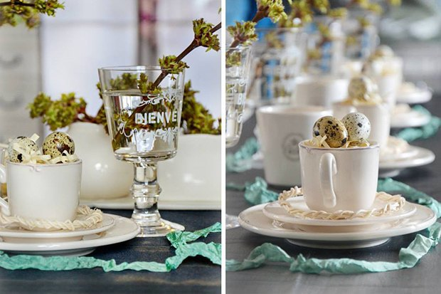 4-Easter-table-setting-ideas-table-decoration-elegant-sophisticated-crystal-glass-cup-egg-holders-napkins-turquoise-branches